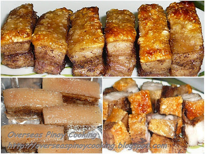 Lechon Macau - Cooking Procedure