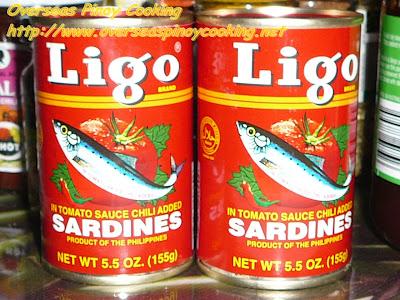 Ligo Canned Sardines