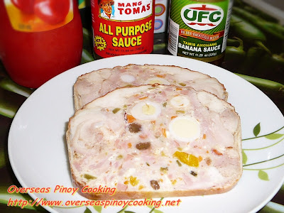 Chicken Meatloaf - Sliced