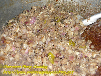 Crispy Sisig - Cooking Procedure