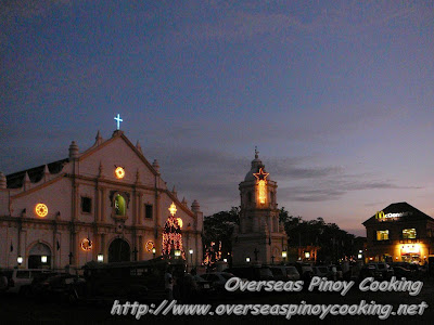 Vigan Cathedral and Bell Tower
