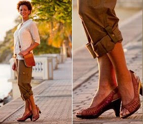 shoes made from recycled material