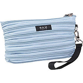 I Was So Thrilled When Received This Powder Blue Wristlet Bag For My Review Bam Bags Zippurse Is Great Running Those Simple Errands You