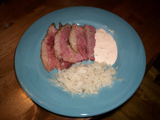 Corned Beef, Sauerkraut, & Thousand Island Dressing