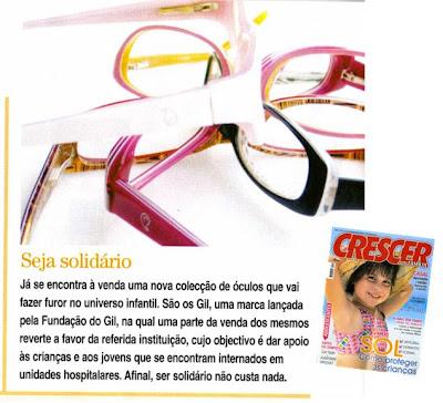 883ff767c Os ÓCULOS DO GIL estão na edição deste mês da revista CRESCER.
