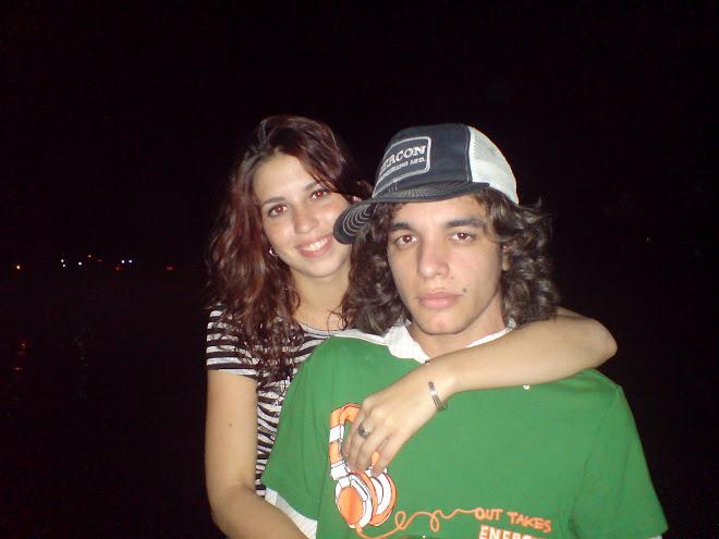 Aqui estoy yo con mi novia