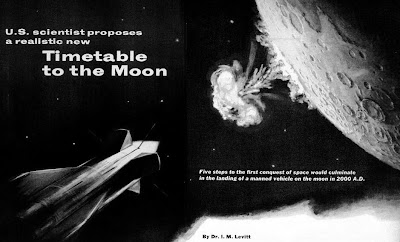 Timetable to Reach The Moon by I.M. Levitt