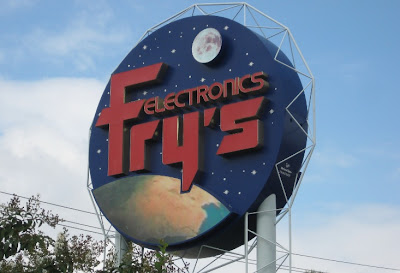 Fry's Electronics in Webster (Southeast of Houston)