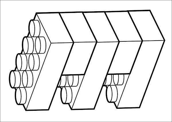 lego block banner printable coloring pages | Home On The Range Coloring Page – Colorings.net