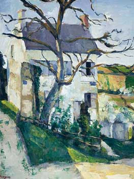 Paul Cézanne - Maison et arbre