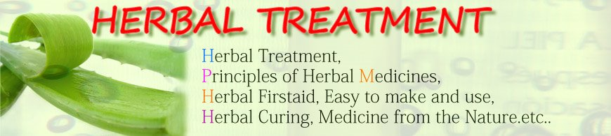 HERBAL TREATMENT