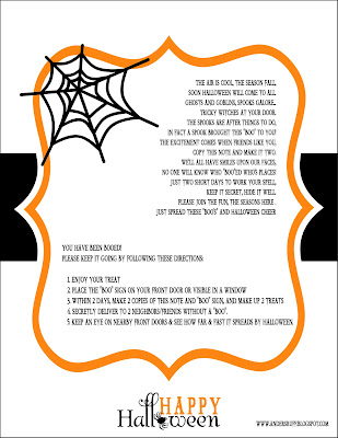 picture relating to Booed Signs Printable titled Totally free Printable: Joyful Halloween \