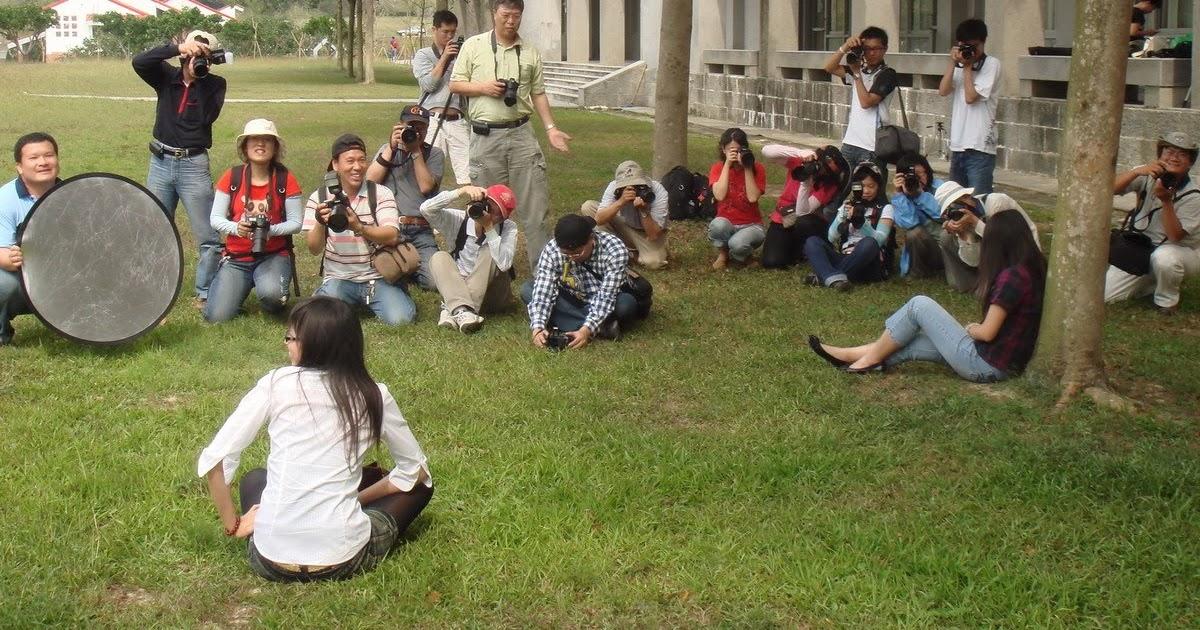 新營社大拍拍Go攝影社活動記錄: 2009/04/12 臺南藝術大學人像外拍