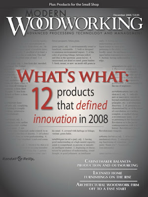 Woodworking Books Magazines December 2008