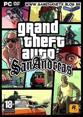 gta_pc GTA SAN ANDREAS - PC - COMPLETO