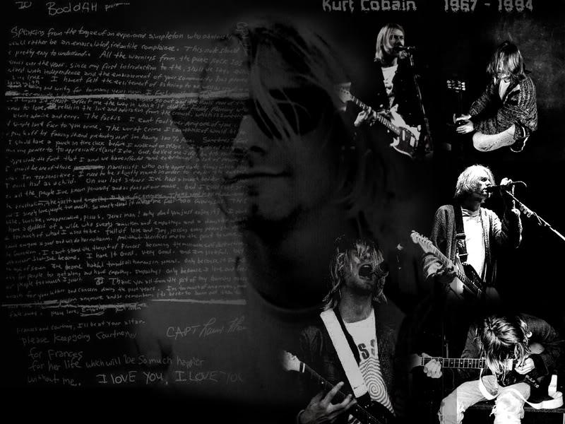 Free metal band wallpapers ii - Kurt cobain nirvana wallpaper ...