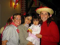 festa julina - casa do irmão da Magda e Ronaldo (Reginando)