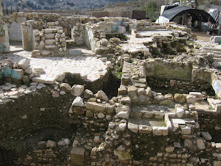 The excavations at the Western Wall