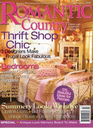Shabby Pink and Chic Home: Romantic Country Magazine Now ...
