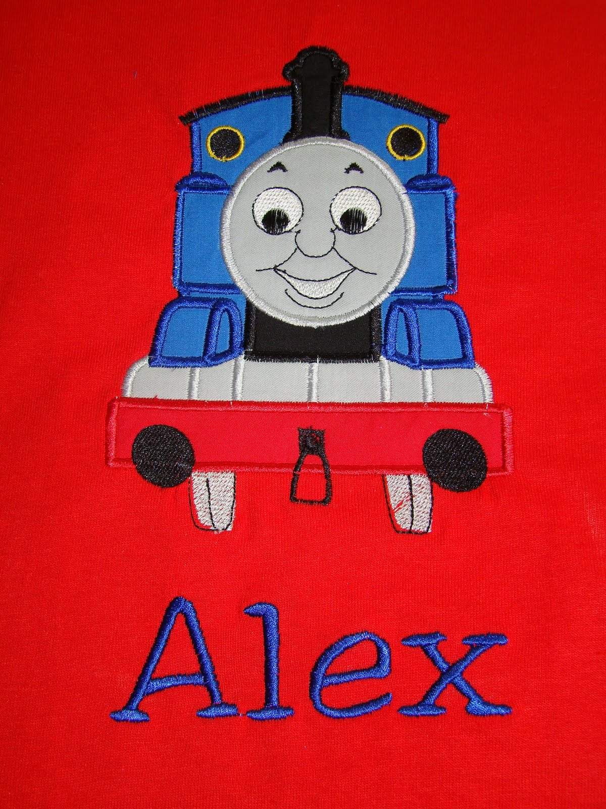 Same Monogram Thomas The Train