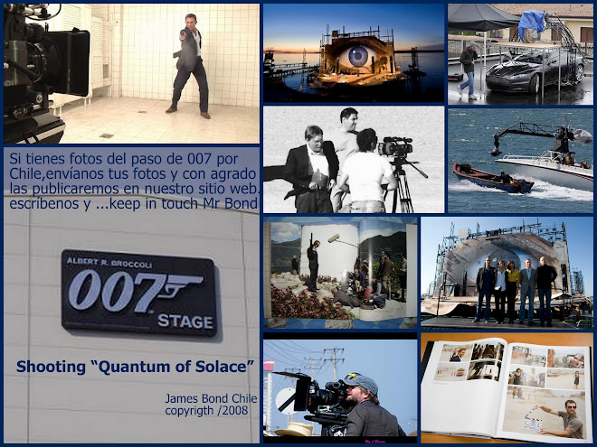 Bienvenido a compartir la James Bond Experience...for Bond lovers only !