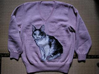 猫セーター
