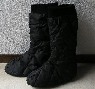 羽毛ブーツ