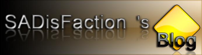 SADisFaction 's Blog