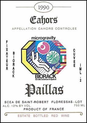 special label chateau paillas cuvee biorack