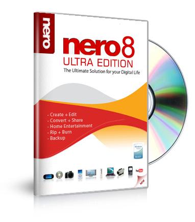 Nero 8 ultra edition 8. 3. 2. 1 multilingual free download latest.