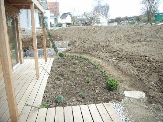 Ein Schweizer Garten Vorher Nachher Bilder