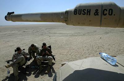 Bush & Co, - Iraq Pics