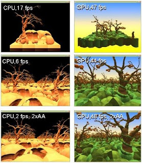 Voxel Game Engine Development: CPU vs  GPU