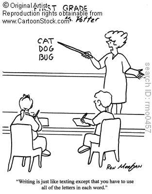 I teach English