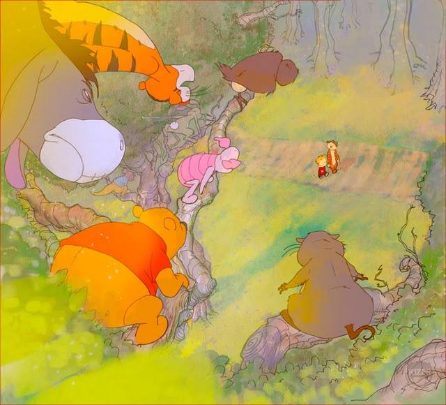 Winnie The Pooh Rain: Brain Clouds And Memory Rain: Calvin And Hobbes