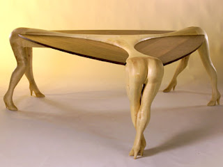 birbirinden ilginç tasarlanmış erotik mobilyalar