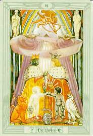 Tarot Inspiration: Atu VI - The Lovers