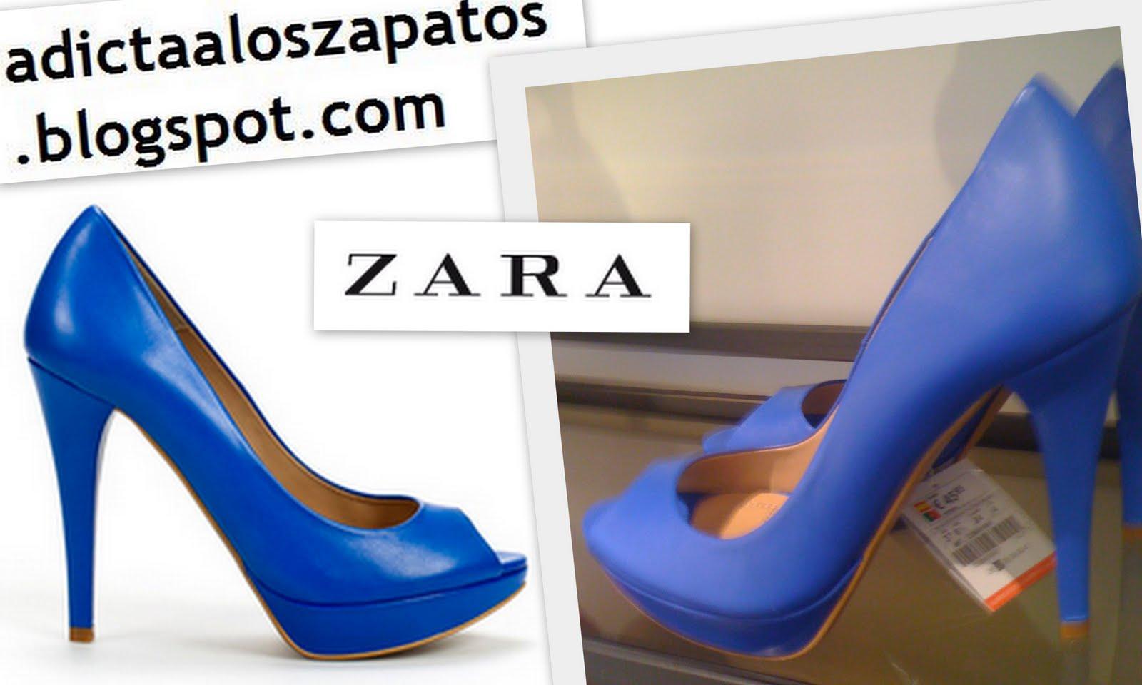 Adicta a los zapatos  Colección de zapatos de Zara. Verano 2011 b685d5c6604