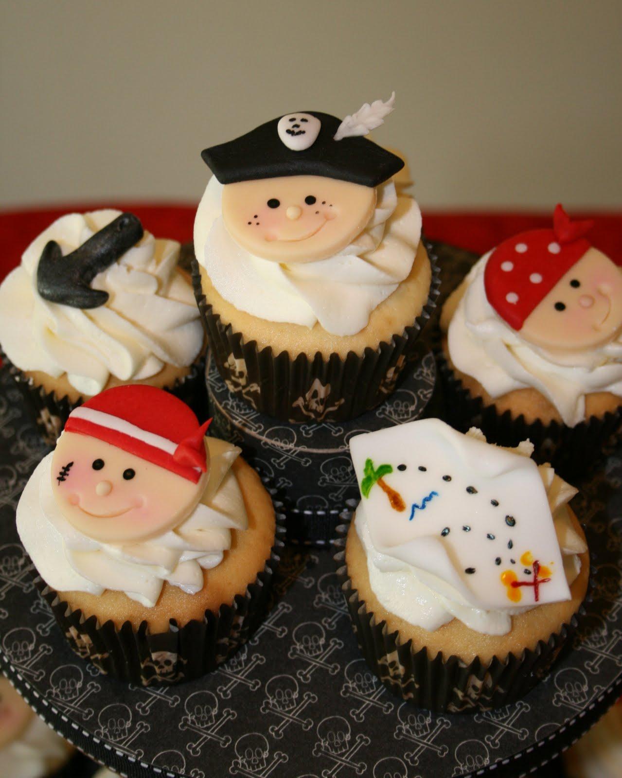 Pirates Captain Birthday Cupcake Cakes Ideas Cupcake