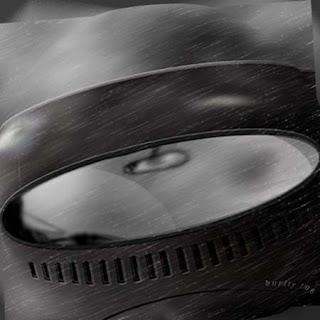 digital imagem - fusca na chuva