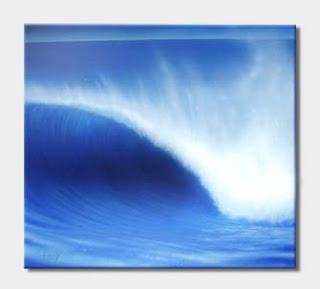 pintura em tela - moving wave - 06