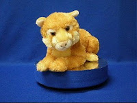 animal world tv video mountain lion plush stuffed animal
