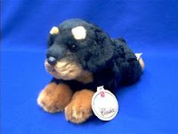 rottweiler stuffed animal plush