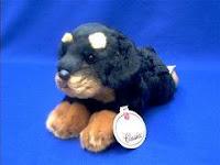 rottweiler stuffed animal plush