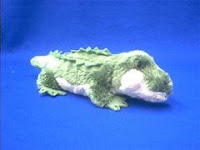 small alligator plush stuffed animal