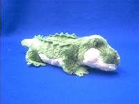 small alligator plush stuffed animal