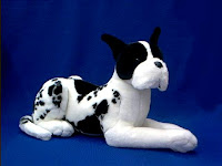 large great dane plush stuffed animal major