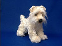 soft coated wheaten terrier plush stuffed animal toy