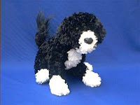 portuguese water dog plush stuffed animal toy