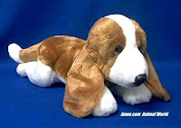 Basset Hound Plush Stuffed Animal Classic